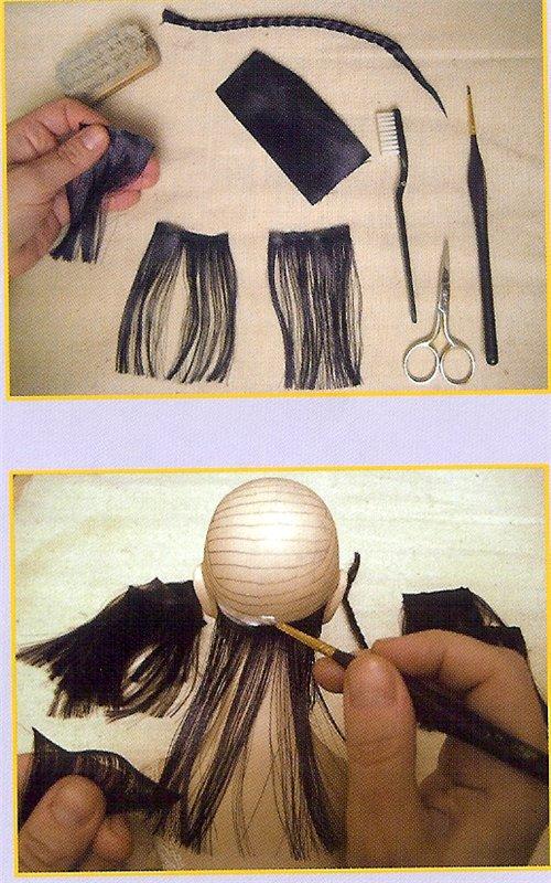 Как делать прически для кукол своими руками